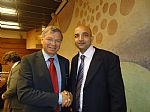 Presidnet HFI with Former Prime Minister of Norway, His Excellency Kjell M. Bondevik.